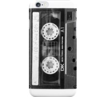 Retro 80s Cassette Tape  iPhone Case/Skin