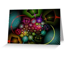 Psychedelic Experience Greeting Card