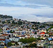 San Francisco Hillside Neighborhoods. by David Denny