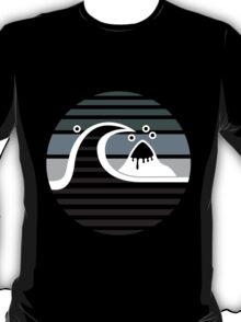 Quiksilver - RETRO logo grey T-Shirt