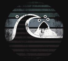 Quiksilver - RETRO logo grunge grey by Doguz