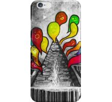 A Volcano of Souls (remix) iPhone Case/Skin