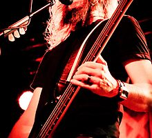 Troy Sanders of Mastodon by HoskingInd