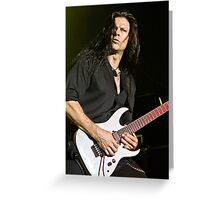 Chris Broderick of Megadeth Greeting Card