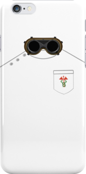 Dr Horrible iPhone case by Ariane Iseger