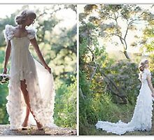 Primodels Review-Beautiful Wedding Dresses in Fashion Week by primodels