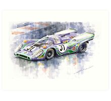 Porsche 917 K  Martini Racing 1970 Art Print
