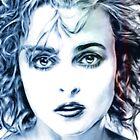 Helena Bonham-Carter portrait by wu-wei