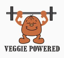 "Vegetarian ""Veggie Powered"" T-Shirt by T-ShirtsGifts"