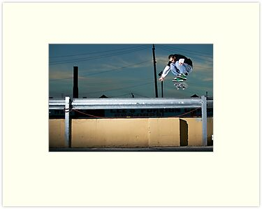 John Methvin - Heelflip - Photo Sam McGuire by Reggie Destin Photo Benefit Page