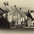 Gold Hill in Shaftesbury by Inspired-Images
