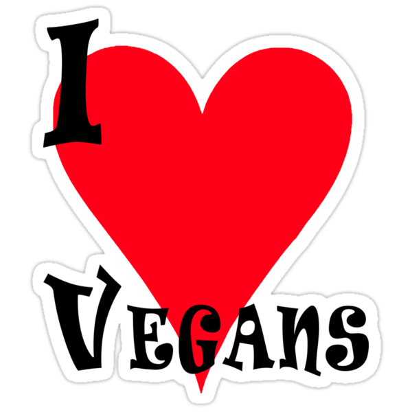 I Love Vegans by T-ShirtsGifts