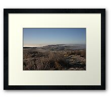 Grianan View Framed Print
