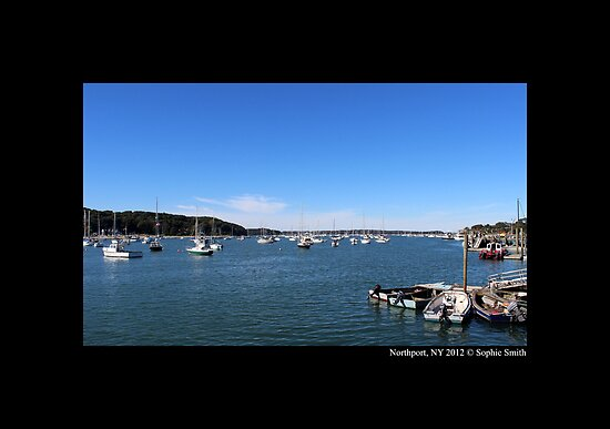 Northport Harbor, NY by © Sophie W. Smith
