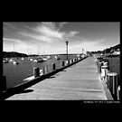 Boardwalk - Northport, New York  by © Sophie W. Smith