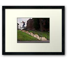 Josh Harmony 50-50, photo by Joe Hammeke Framed Print