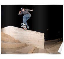 Josh Kalis SW Back Tail, AZ, Photo by Joe Hammeke Poster