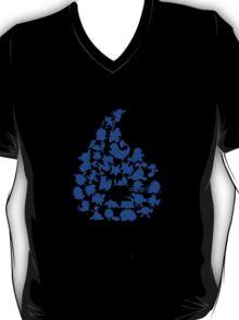 Water Pokemon Shirt T-Shirt