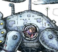 Tricerabot Sticker