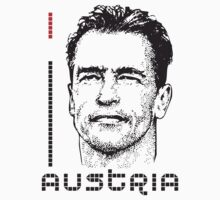 I LOVE AUSTRIA T-shirt by ethnographics