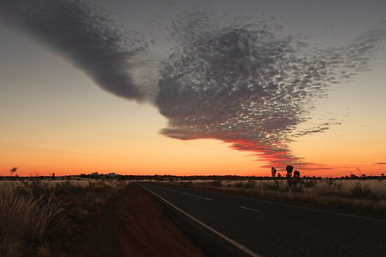 Outback Dusk by Ursula Rodgers