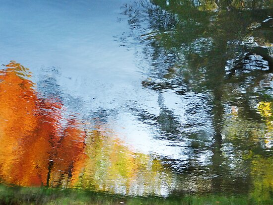 Fall Water Colors by enchantedImages
