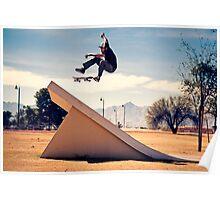Ray Barbee - 360 Flip - Arizona - Photo Aaron Smith Poster