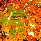 Autumn quote by Tisha Clinkenbeard