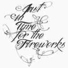 Just in Time for the Fireworks tee by Vana Shipton