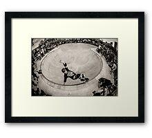 Christian Hosoi - Layback Smith Grind - New York - Photo Aaron Smith Framed Print