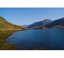 Barrisdale Bay near Arnisdale, Highlands, Scotland Photographic Print