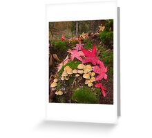 Autumn Floor Greeting Card