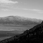 Spring Valley Mountains B&W by elasita