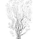 Variation on a Cayley tree by Regina Valluzzi