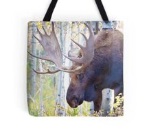 Sad Ending For A Stunning Bull Moose Tote Bag