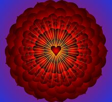 Heart Mandala by shoffman