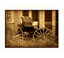 Carriage © Art Print