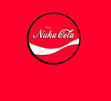 Enjoy Nuka Cola - Round - Red iCASE by HighDesign