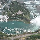Niagara From Above by yuliekayy