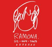 Ramona Flowers (on Black) Kids Clothes