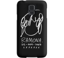 Ramona Flowers (on Black) Samsung Galaxy Case/Skin