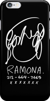 Ramona Flowers (on Black) by huckblade