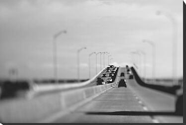3 mile bridge, pensacola, florida by Carina Potts