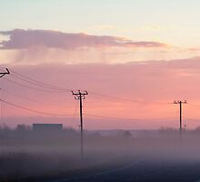 Cotton Candy Country Road by KBritt