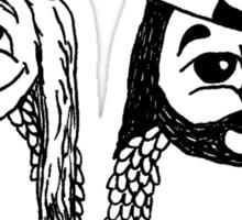 Jay and Silent Bob Owls Sticker