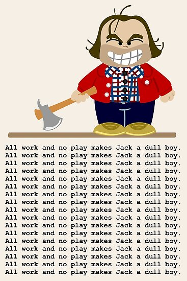 Jack Torrance by Sonia Pascual