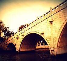 Suzhou Bridge, China by Chris Millar
