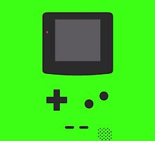 Gameboy Iphone Case Green by triforce15