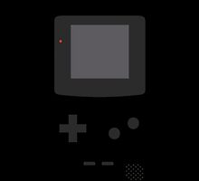 Gameboy Iphone Case Black by triforce15