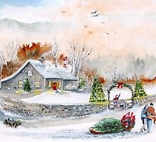 Home In Time For Christmas. 2012 by Rob Beilby